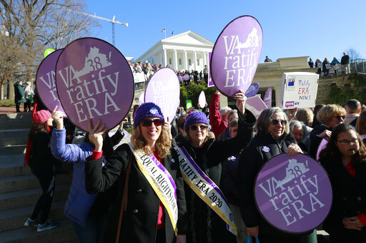 Virginia Approves the Equal Rights Amendment, Becoming the 38th State to Back It…