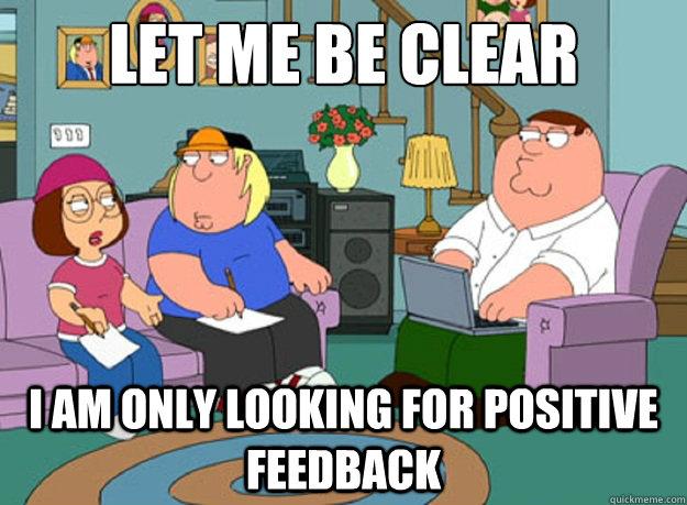 Key to negative feedback: be constructive - IntelligentBee