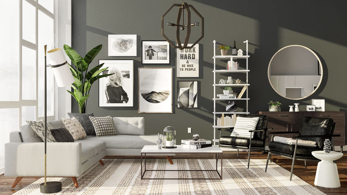 Black and White Wall Art in Your Home