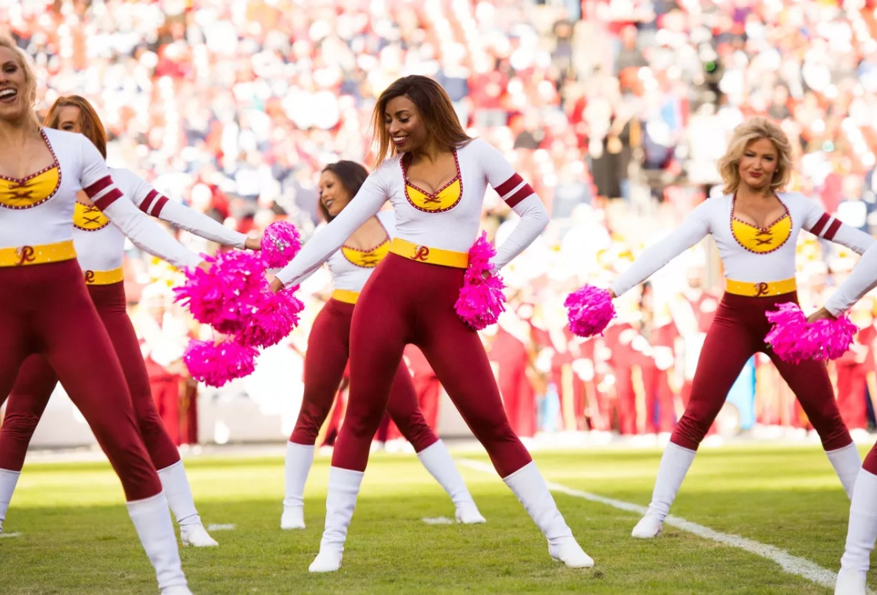 """In an Effort to be Even More 'Woke' the """"Washington Football Team"""" is Saying Goodbye to its Cheerleaders"""