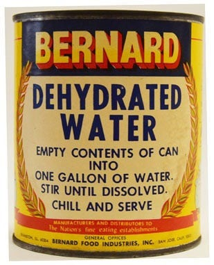Dehydrated water | | thetandd.com