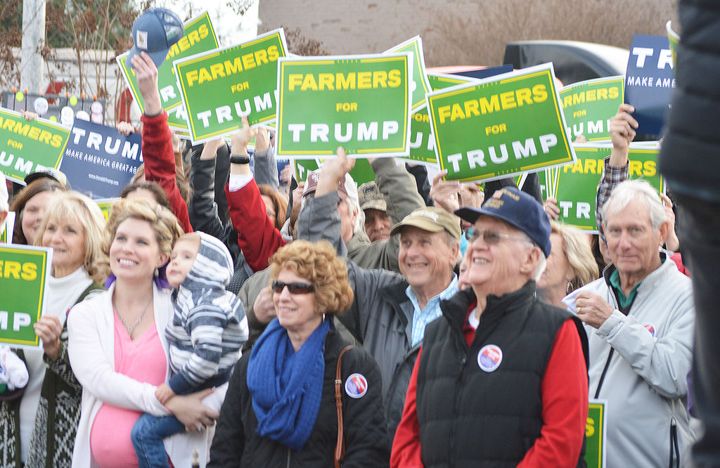 Farmers still love Trump as president hits highest approval rate ever in ag poll…