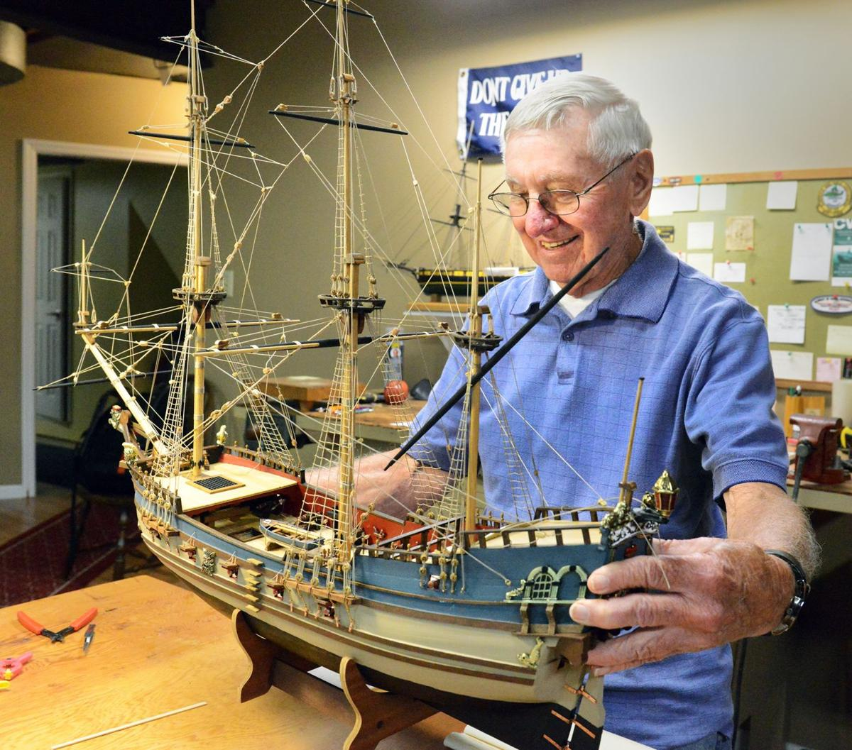 Retired McMurray man uses expertise to build model ships ...