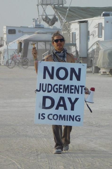 Non-Judgement Day | Bobbi's Blog