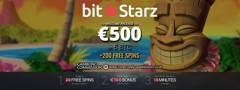 Bitstarz casino biedt een geweldige welkomstbonus voor nieuwe spelers die zich hebben geregistreerd