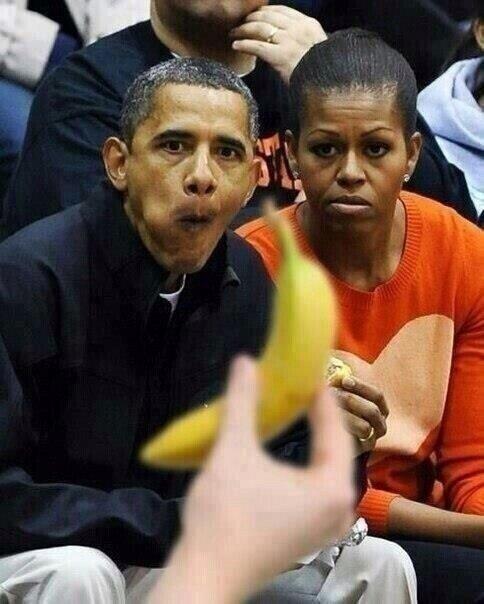Obama the banana man! | Boudica BPI Weblog