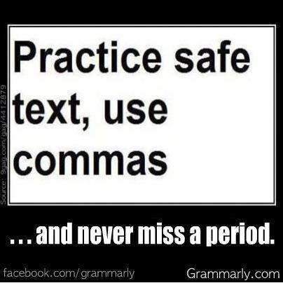punctuation sex | BroadyELT