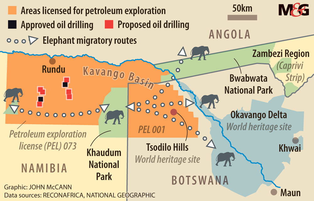 Okavango Delta under threat from oil, gas exploration ...