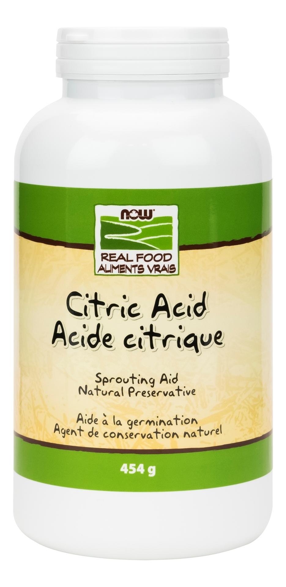 NOW Foods Citric Acid Powder | BuyWell.com | BuyWell.com ...