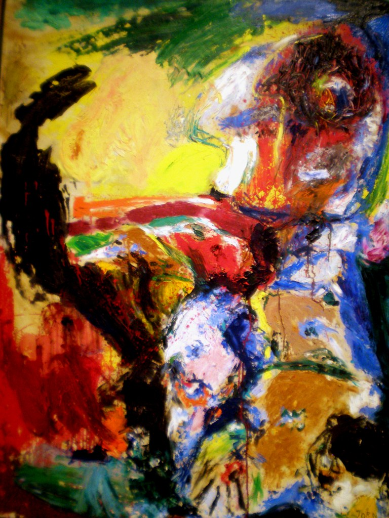 Asger Jorn 1961 'The Suicide of Mr. H', Institute of Arts, Detroit ...