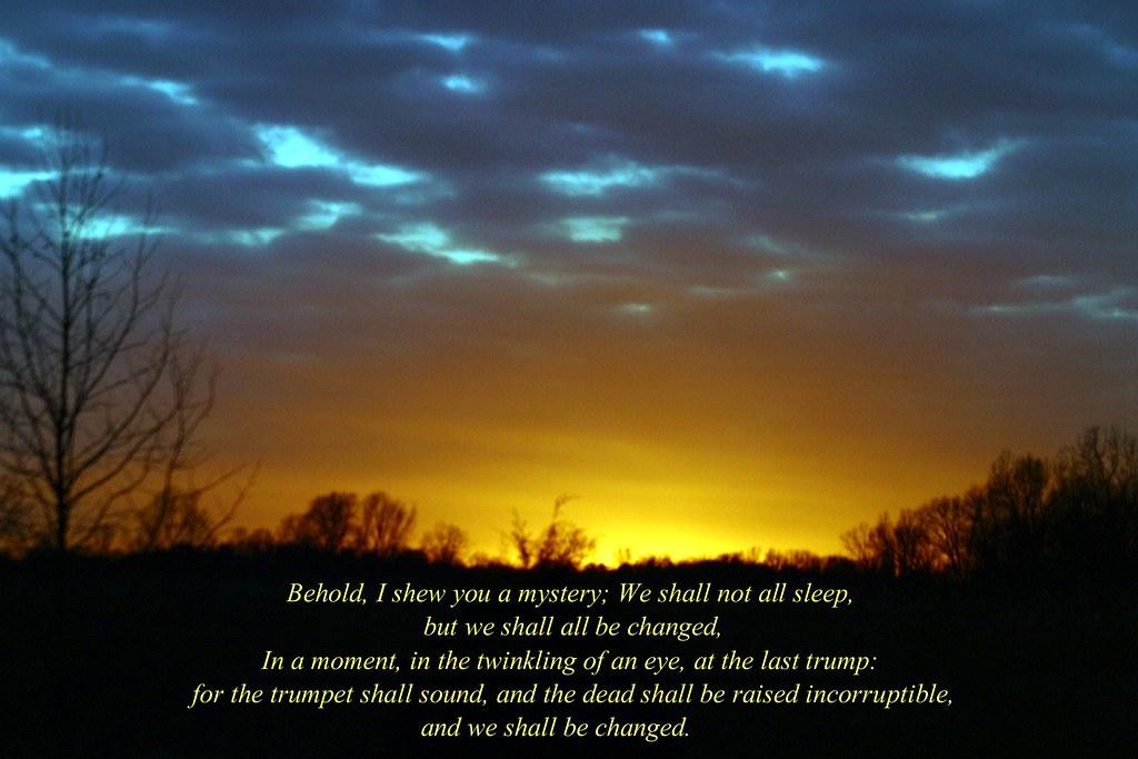 1 Corinthians 15:51-52   Mary Alice Bowles   Flickr