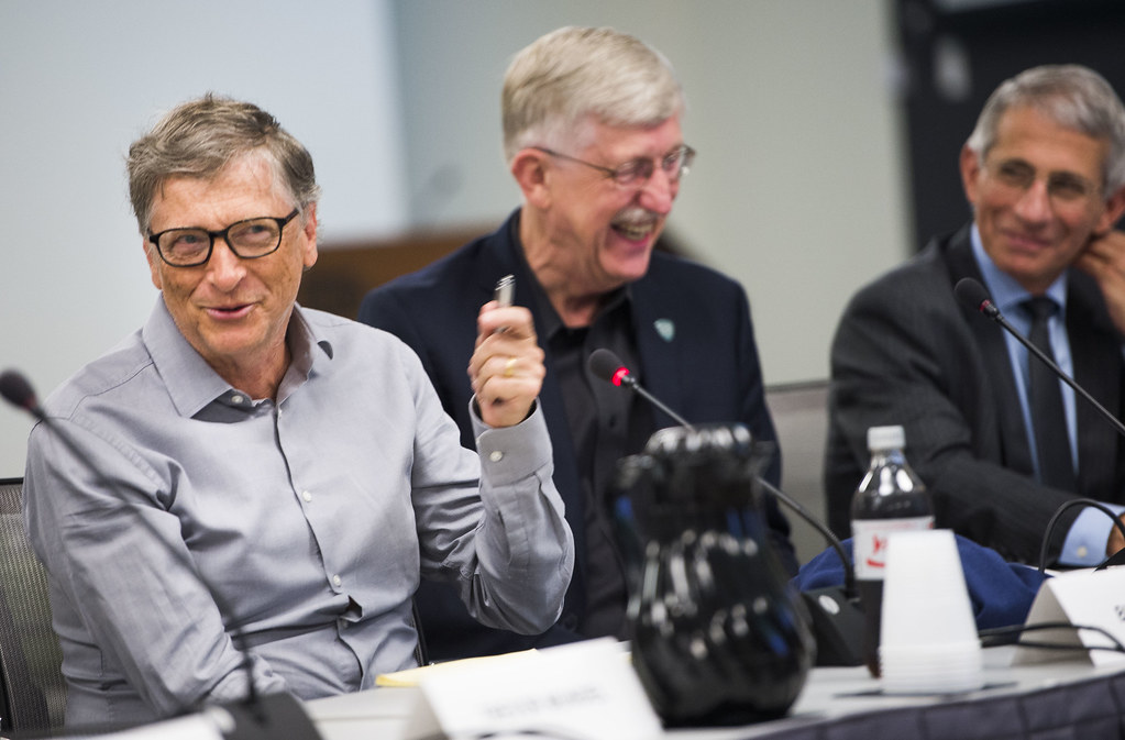 Bill Gates at NIH | National Institutes of Health Director ...