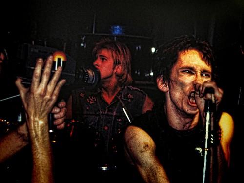 Stiv Bators, The Dead Boys, 1979, CBGB's | i nearly went dea… | Flickr