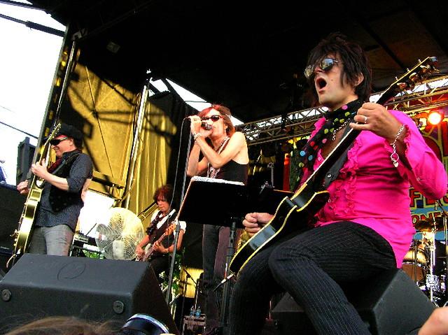 New York Dolls   New York Dolls. Siren Music Festival 2007 ...