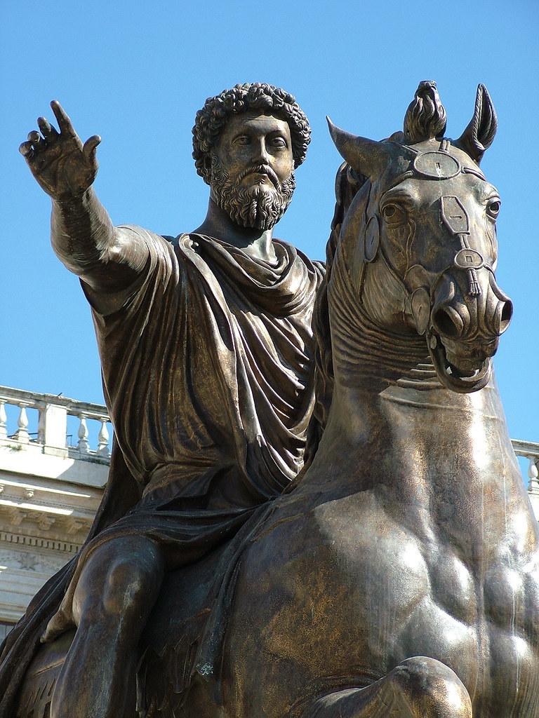 Marcus Aurelius statue on Capitoline Hill – Marcus Aureliu ...