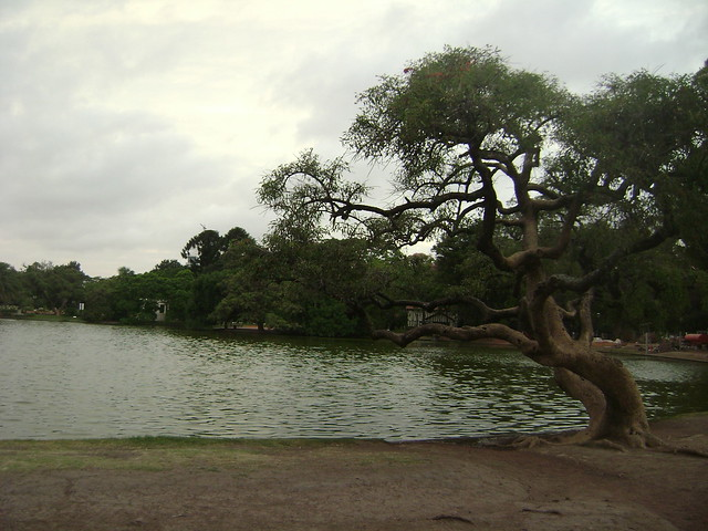 Lago calmo...