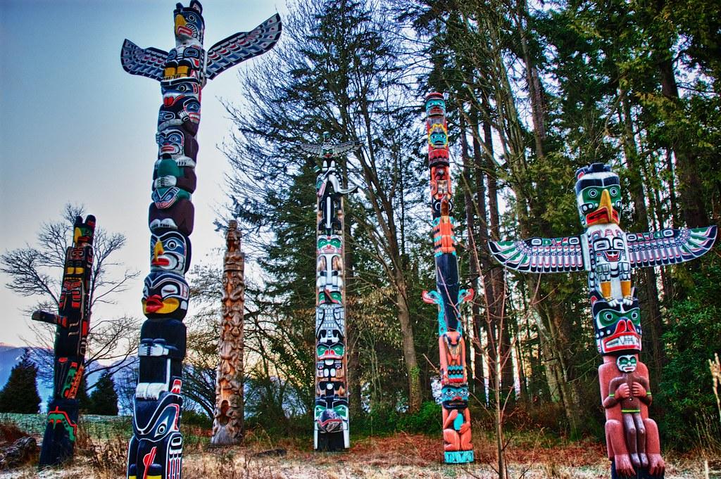 Stanley Park Haida Totem Poles   The rich cultural ...