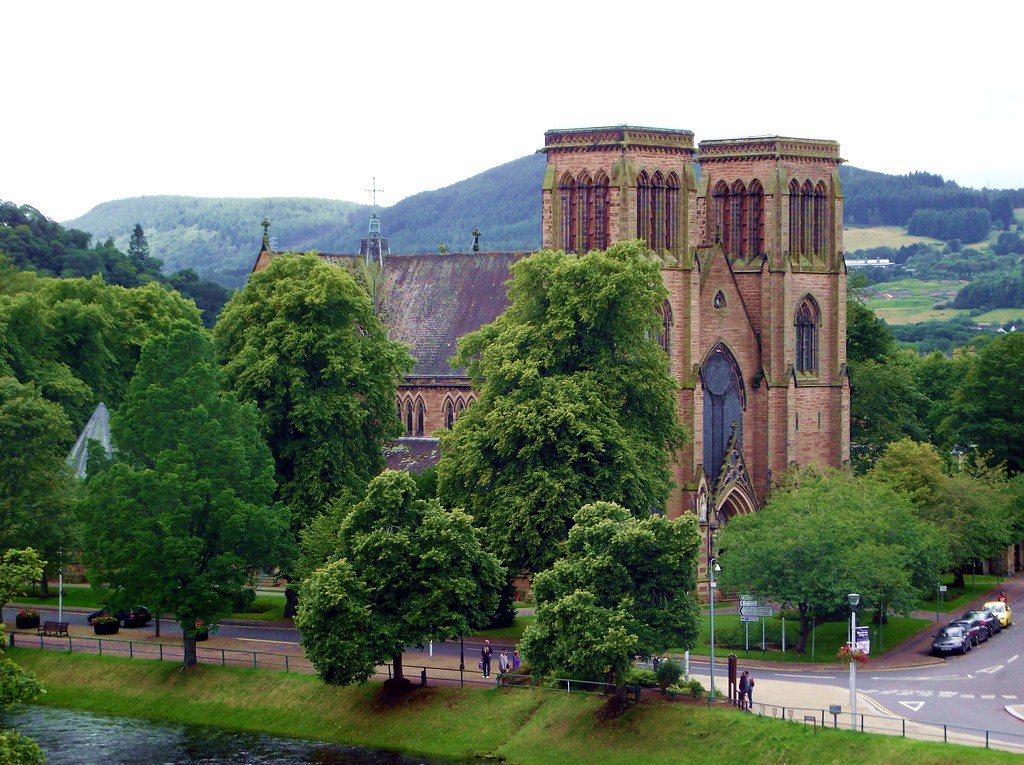 St Andrew's Cathedral in Inverness Scotland   Inverness ...