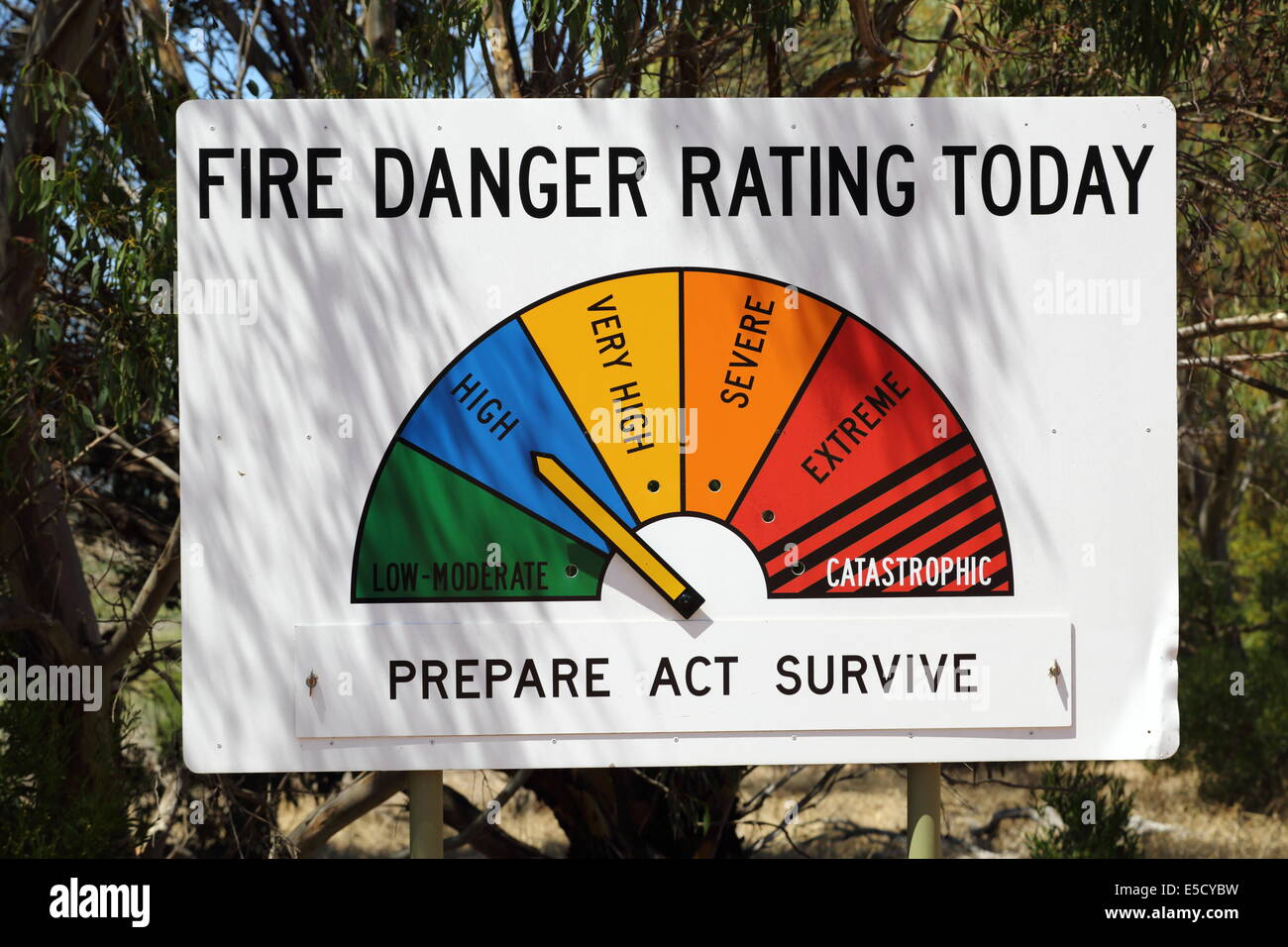 Fire Danger Rating Stock Photos & Fire Danger Rating Stock ...