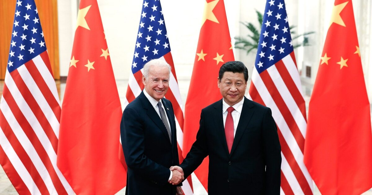 Biden arrives in China amid tensions over air defense zone ...