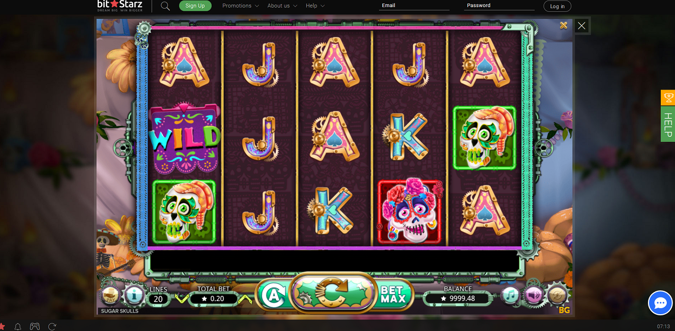 In Bitstarz casino presents all kinds of slot machines with very high quality graphics