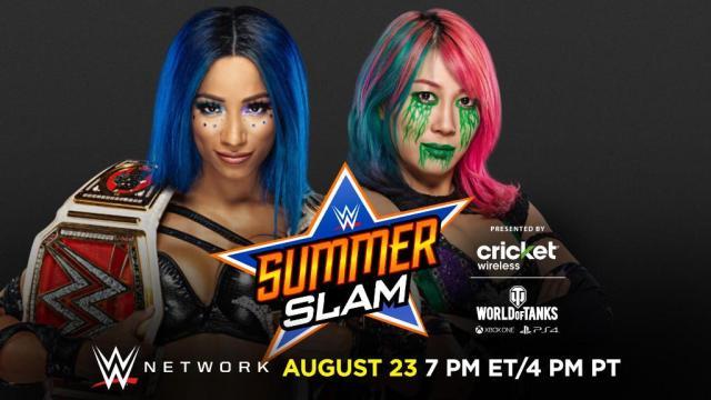 Asuka vs Sasha Banks for the WWE RAW Womens Championship ...