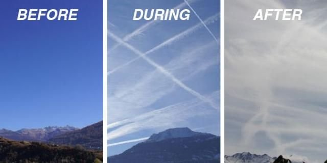 Chemtrails vs. Contrails - ChemtrailProtection.org