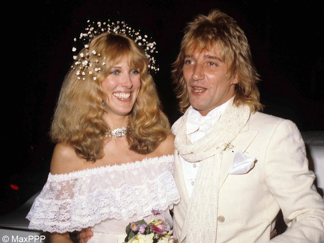 le mariage de Rod Stewart et Alana Hamilton - Les ...