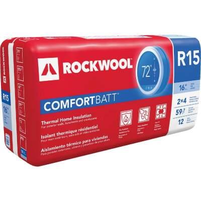 Rockwool Safe N Sound 16 In. x 47 In. Stone Wool ...