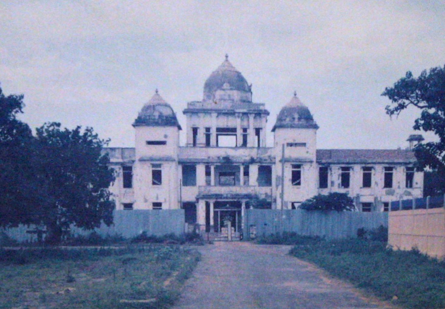 The burning and rebuilding of Jaffna Public Library
