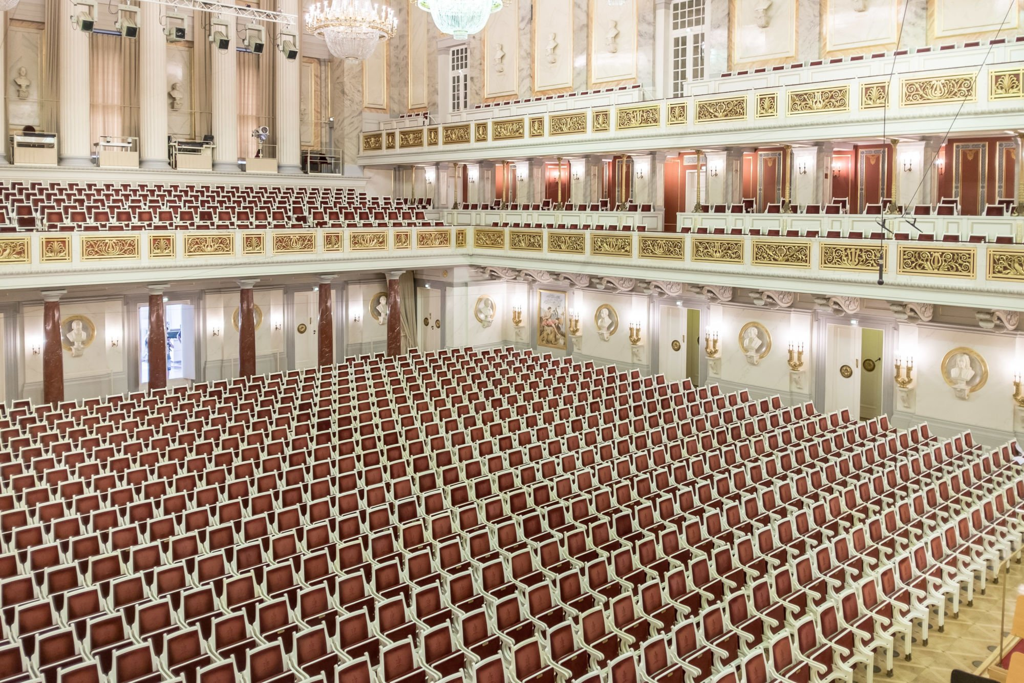 Empty concert hall – free photo on Barnimages