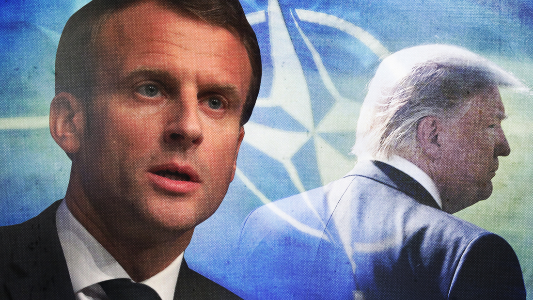 Trump enters war of words between Macron, Erdogan. Says Macron's comment that NATO is 'brain dead' was insulting…