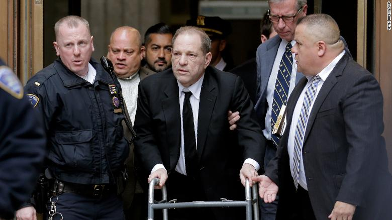 Harvey Weinstein Returns to Bellevue Hospital Due to Chest Pains…