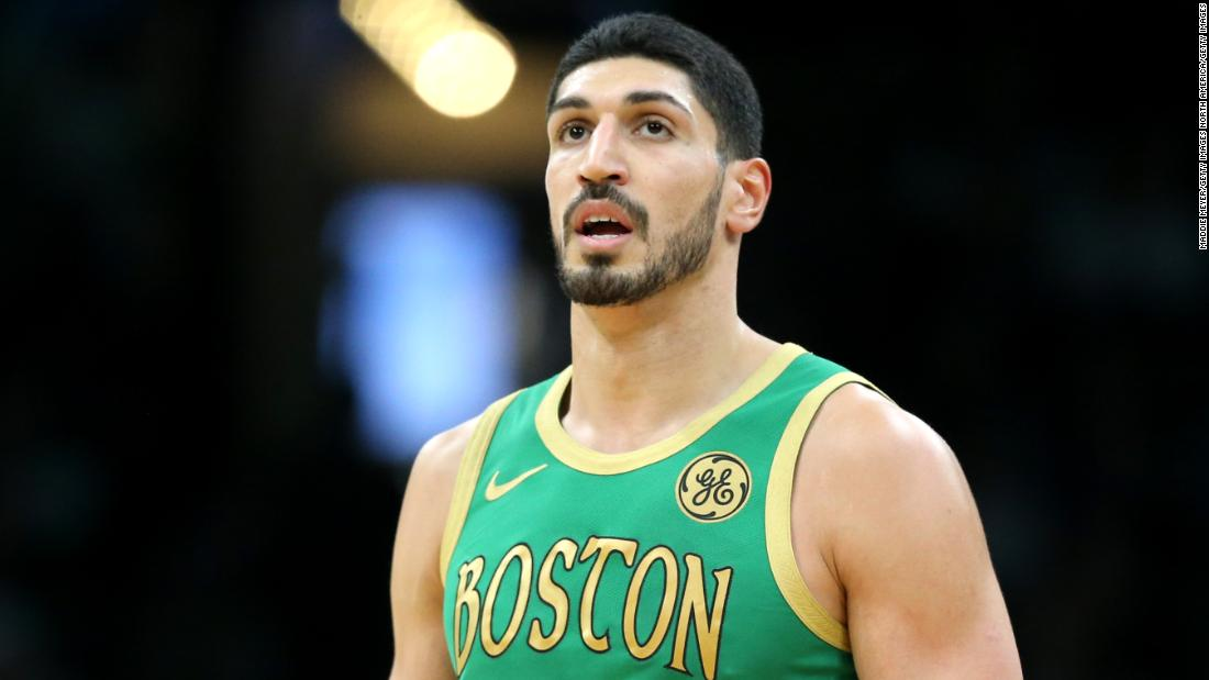 Boston Celtics' Enes Kanter Doubles Down on Criticism of Communist China