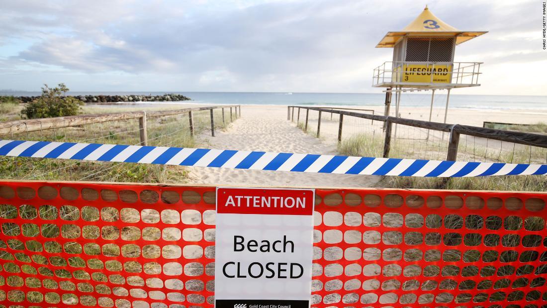 Australia closes beaches as Covid-19 lockdown continues ...