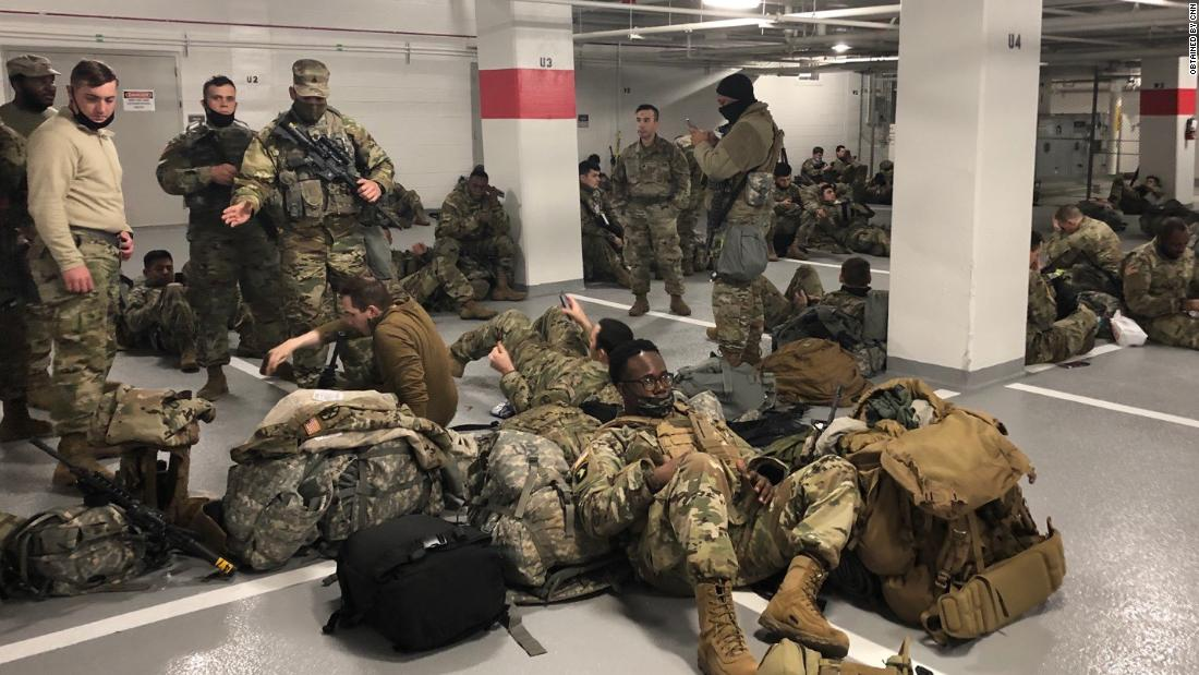 National Guard allowed back into Capitol complex after ...
