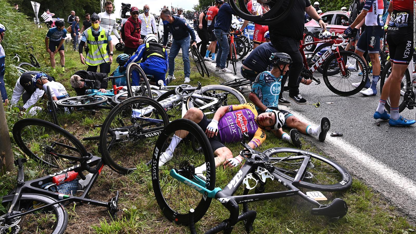 Tour de France crash: French authorities open ...