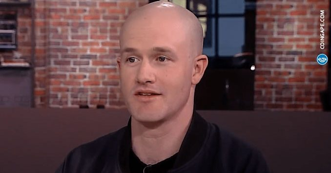 """Coinbase CEO Brian Armstrong Tweets """"Golden Words"""" to ..."""