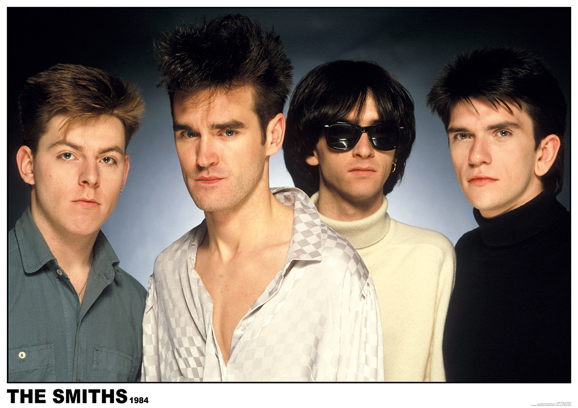 The Smiths 1984 Poster | Sold at UKposters