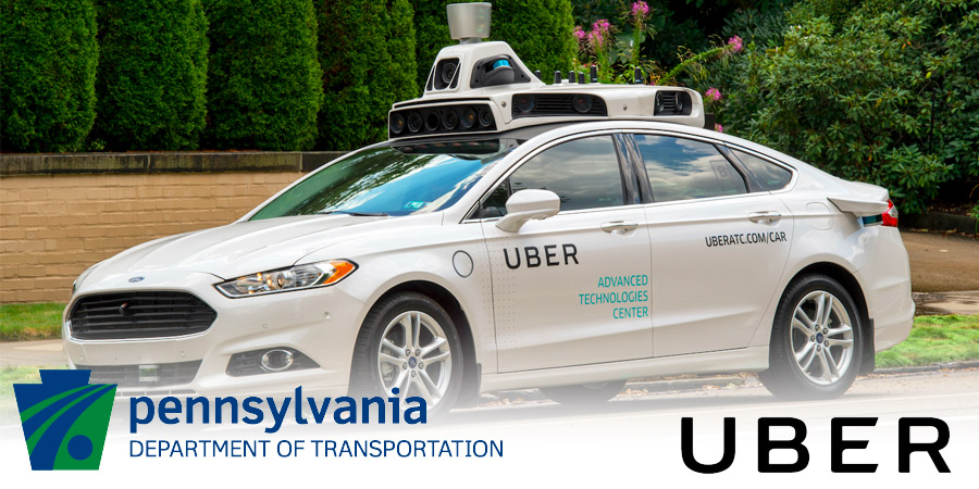 Uber Asks PennDOT to Delay Self-Driving Car Rules