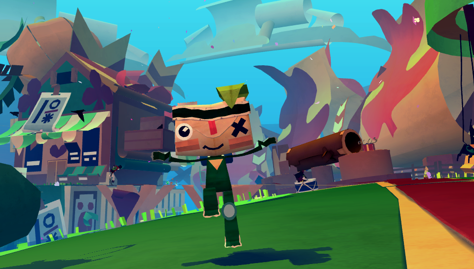 Tearaway PS Vita Review: Giddily in Love With a Squishy ...