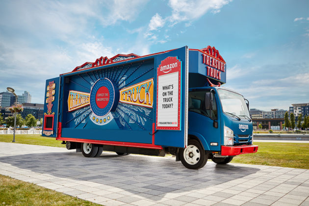Amazon Treasure Truck set for national expansion taking flash deals