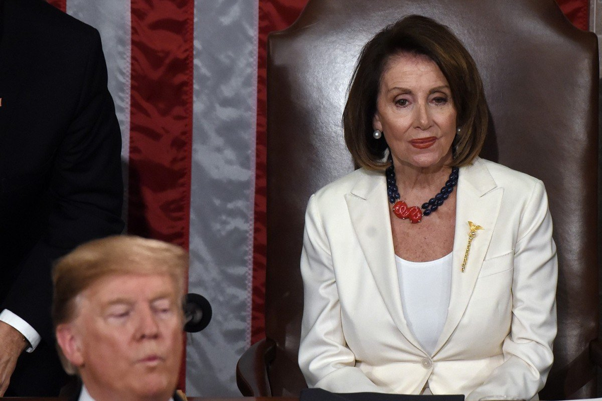 US House Speaker Nancy Pelosi says Donald Trump 'just not worth' impeaching, too divisive ...