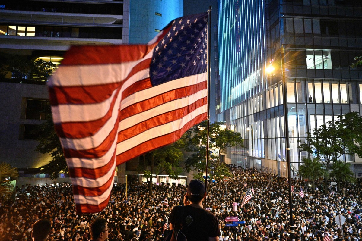 China accuses US of interference after Senate passes bills supporting Hong Kong protesters…