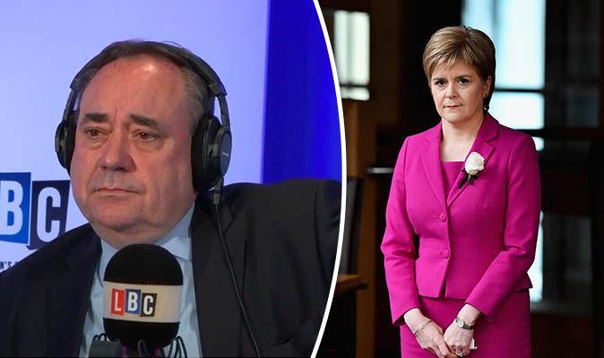 Salmond backs Sturgeon's bid to stop Britain leaving EU ...