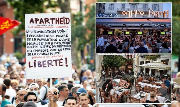 Greece, Italy and France enforce vaccine passports for restaurants and tourist attractions ...