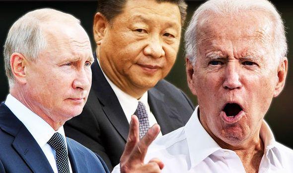 Joe Biden 'key to stopping China and Russia' as pair ...