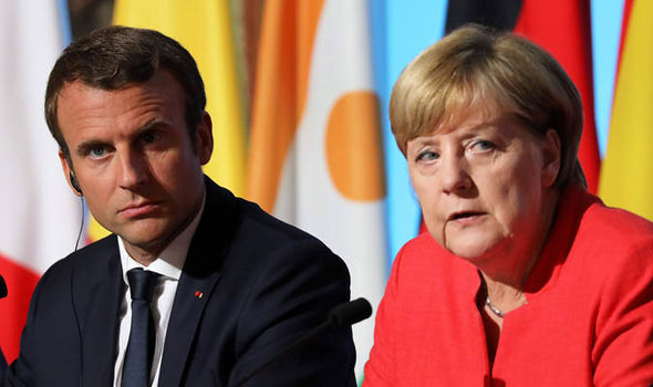 Germany and France calls for $545 billion chinavirus recovery fund…