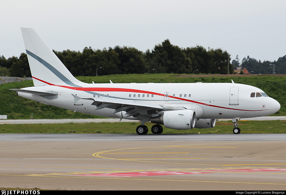 LX-LTI | Airbus A318-112(CJ) Elite | Global Jet Luxembourg ...