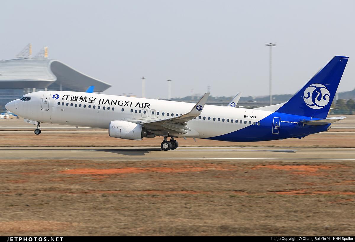 B-1557 | Boeing 737-85C | Jiangxi Airlines | Chang Bei Yin ...